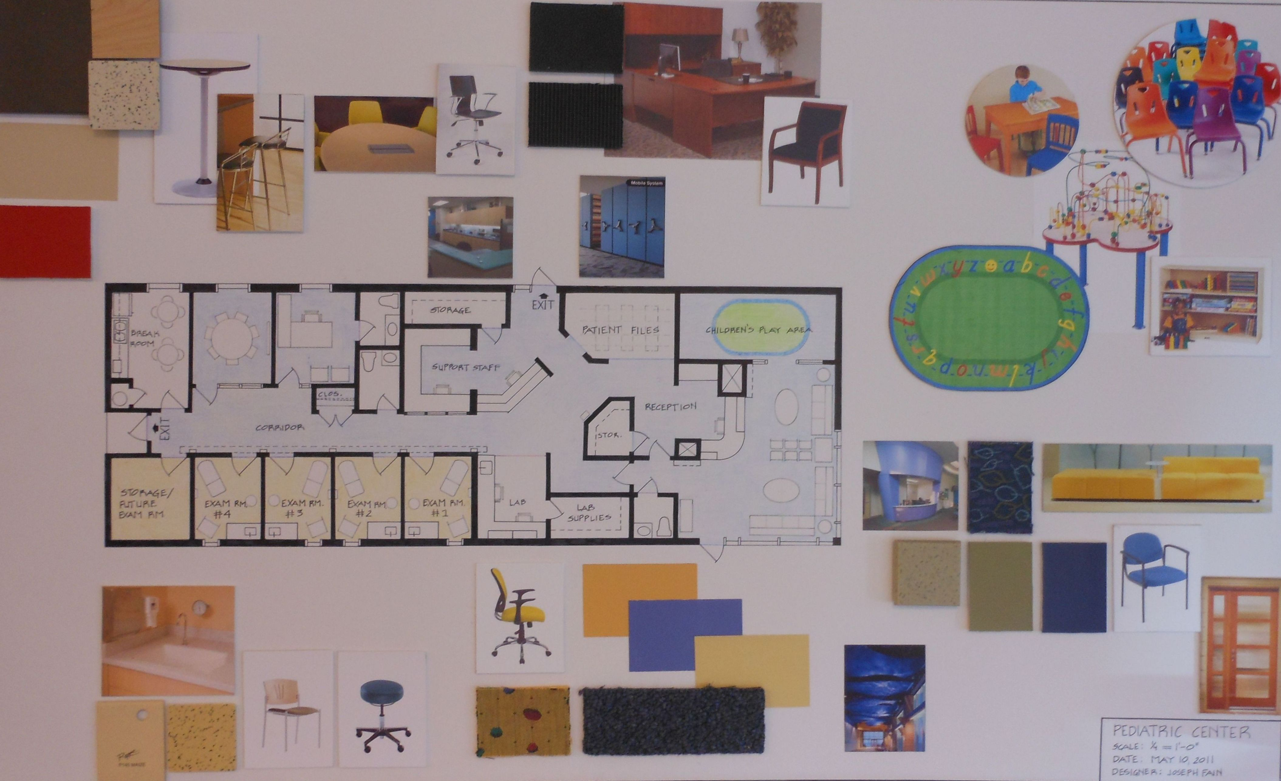 School Project AIDA Academy of Interior Design Arts Joseph