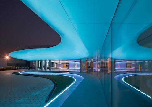 Al Jazeera Network Studio, Doha by Veech x Veech, Stuart A. Veech, Mascha Veech-Kosmatschof. Image: German Design Awards.
