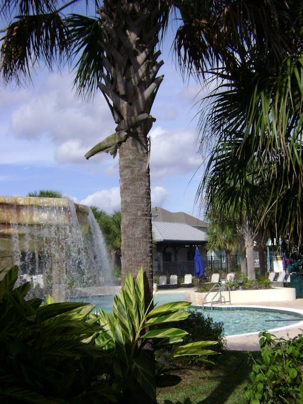 Lagoon Pool with Waterfall
