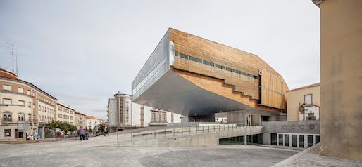 Castelo Branco Cultural Center by Josep Lluís Mateo. Photo: Adrià Goula