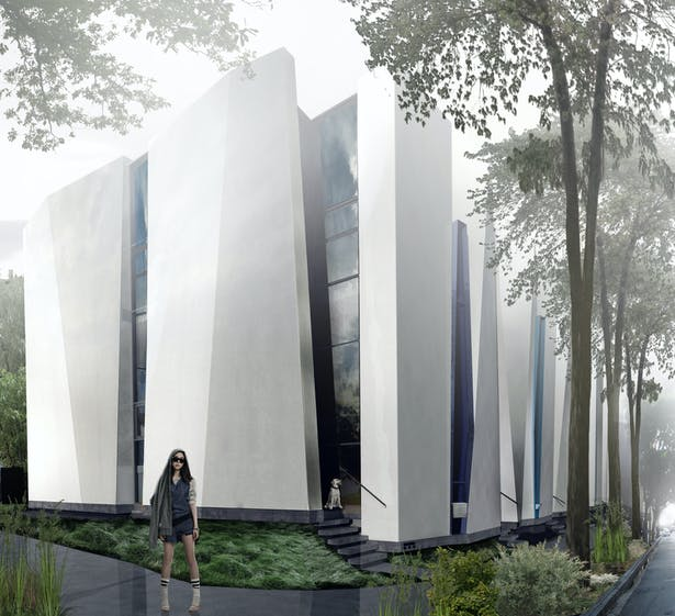 Rendering of initial concept