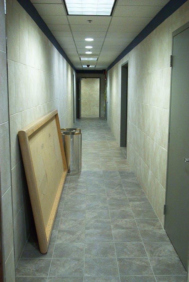 Delivery/Restroom Corridor