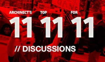 Archinect's Top 11 Discussions for '11