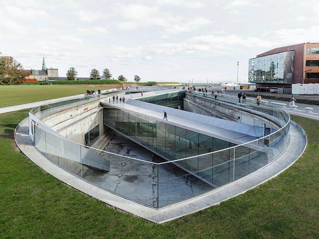 Danish Maritime Museum in Helsingør, Denmark by Bjarke Ingels Group. Photo: Rasmus Hjortshøj.