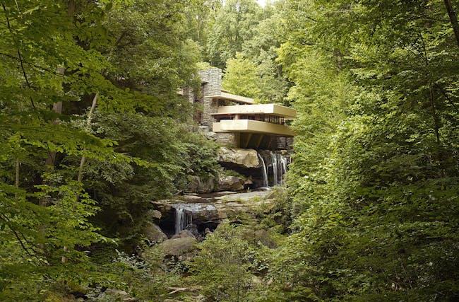 Fallingwater in Pennsylvania. Credit: Wikipedia