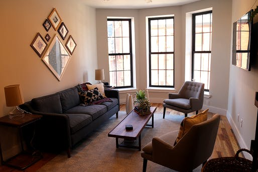 Common space in Common. Image via brownstoner.com