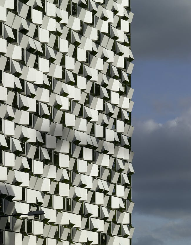 Charles Street Car Park in Sheffield, UK by Allies and Morrison