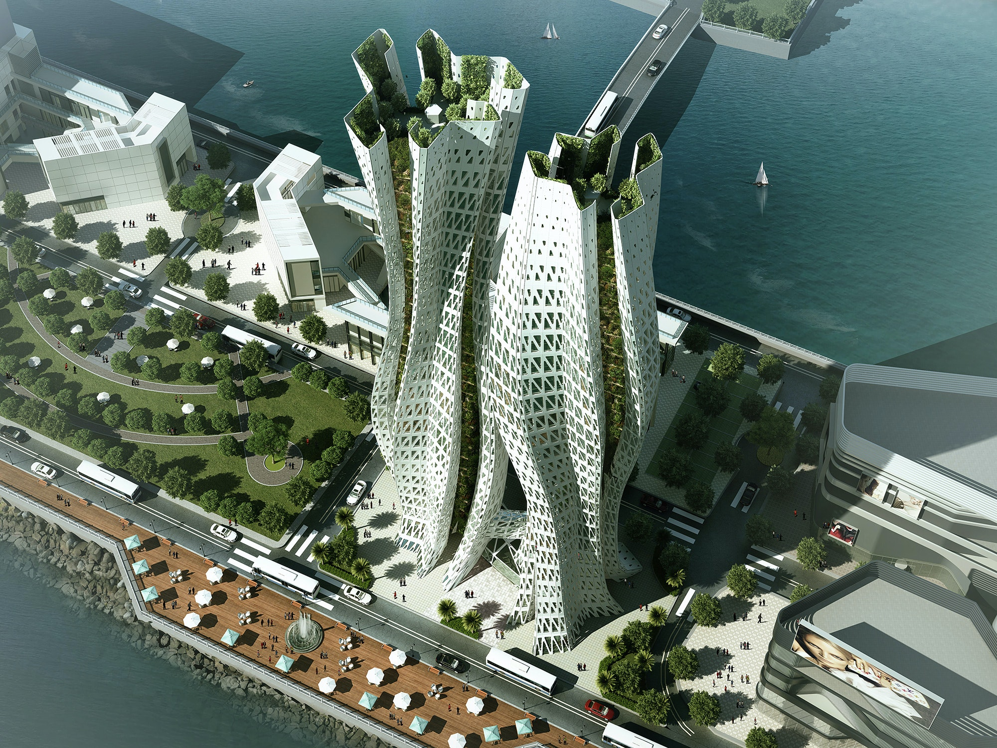 Dragonfly Project The Winning Skyhive Skyscraper Challenge Ideas