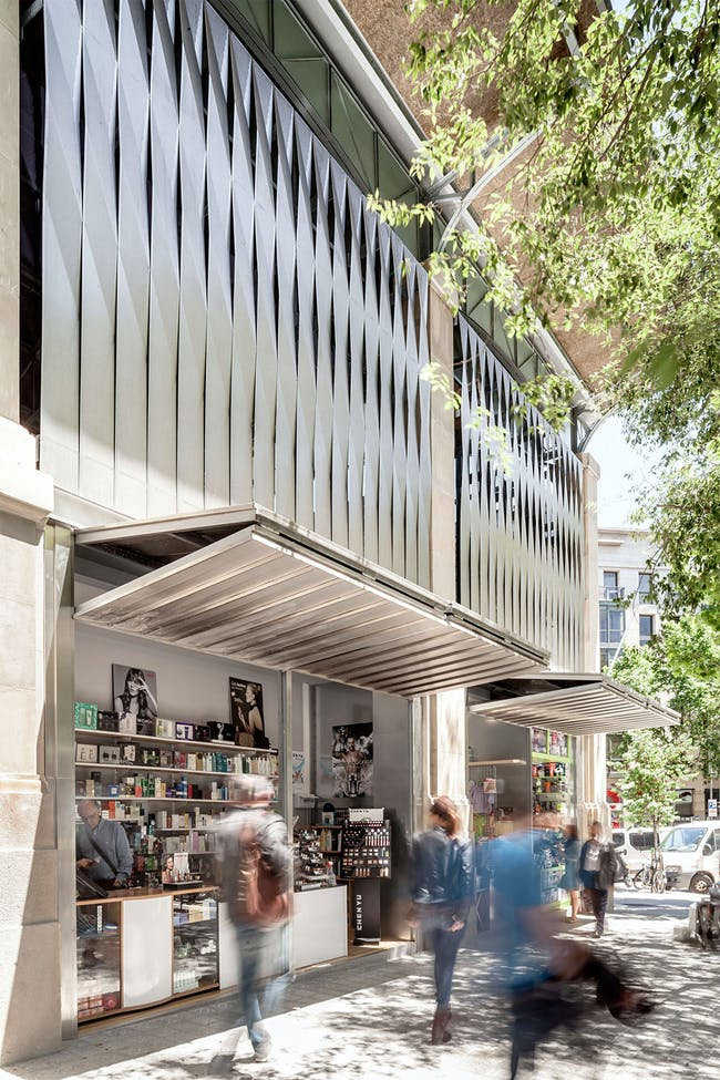 Remodelling of El Ninot Market in Barcelona, Spain by Mateo Arquitectura; Photo: Adrià Goula