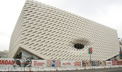 Is The Broad Museum's newly unveiled facade living up to its renderings?