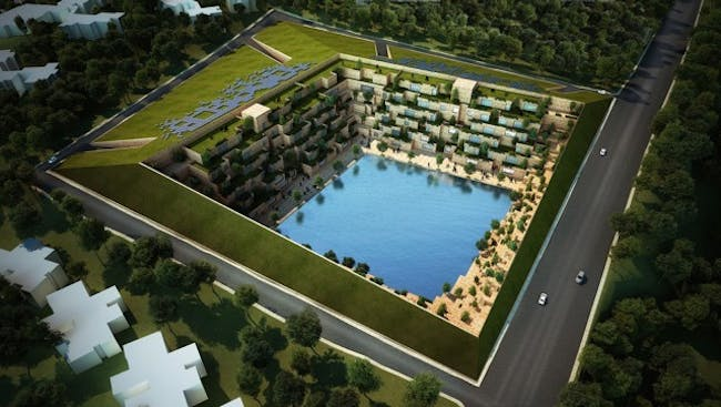 Best Unbuilt Concept - Sanjay Puri Architects: Reservoir. Photo credit: Azure