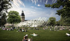 Temporary pavilion by J. MAYER H. as centerpiece for Karlsruhe's 2015 City Jubilee