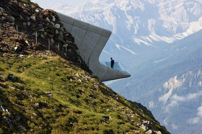 Messner Mountain Museum, Corones (photo by Inexhibit)