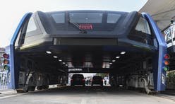Public transit boon or boondoggle? China tests out its road-straddling bus