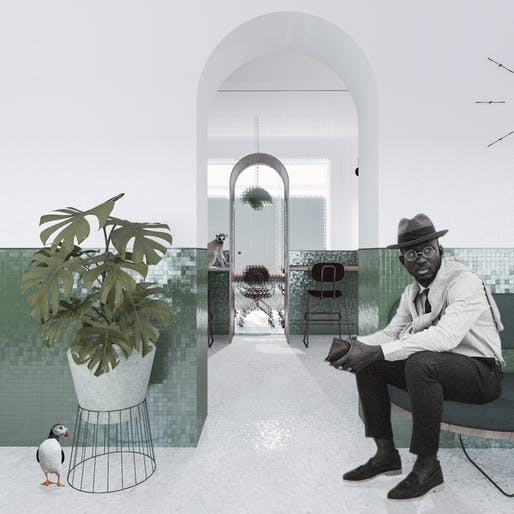 "1ST PLACE: ""The Menagerie"" by STUDIO MAS - Marianne Ventre, Anthony Spennato 