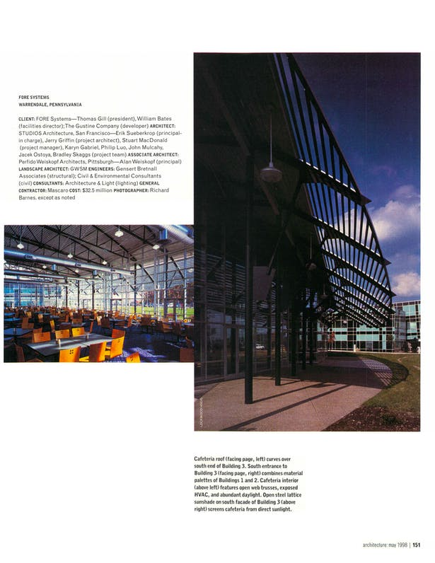 Page 8 - architecture: may 1998