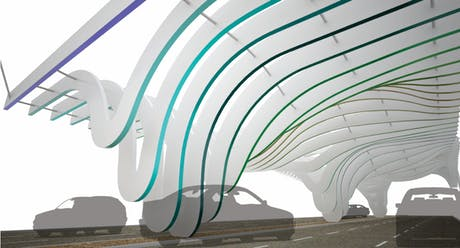 2nd place awarded for the Entry way to Rosarito Beach competition