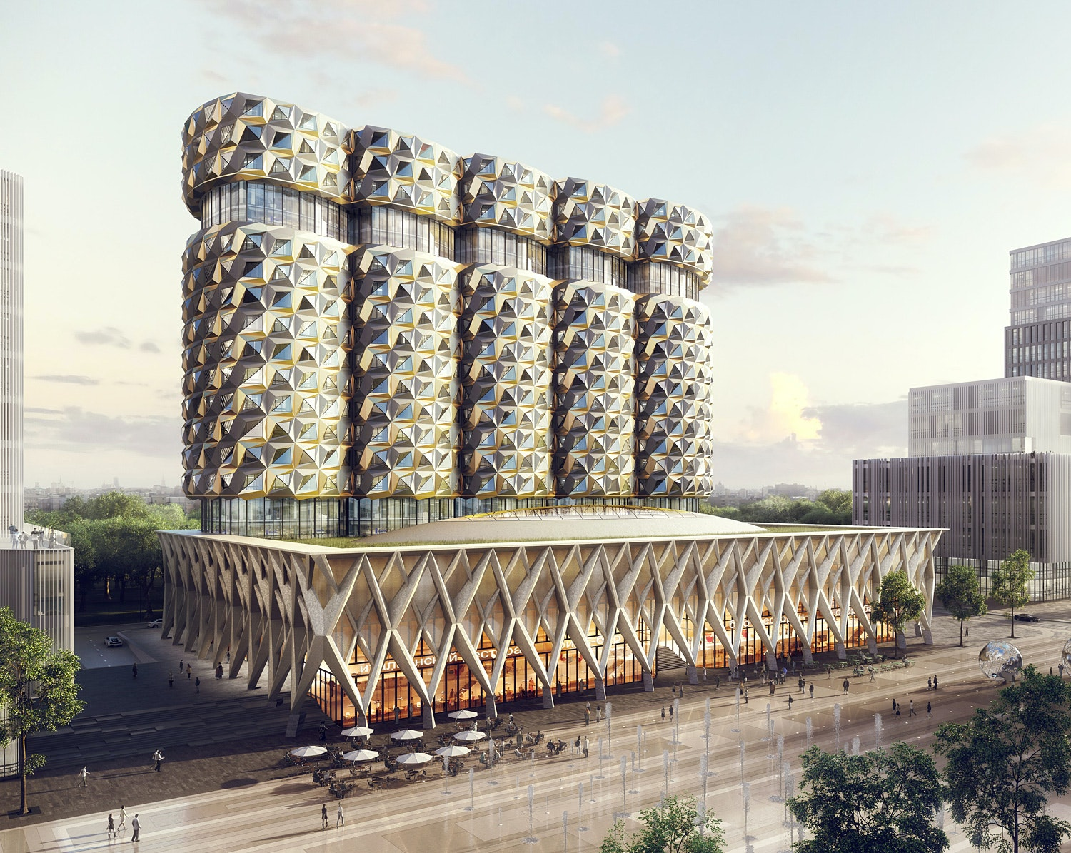 Facades of residential buildings on the ZIL will be made of brick 89