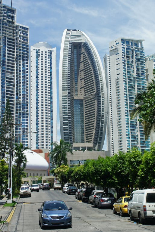 The Trump Ocean Tower in Panama. Image via wikimedia.org