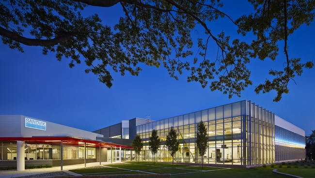Sandvik, Inc. - Headquarters for the Americas by NK Architects.