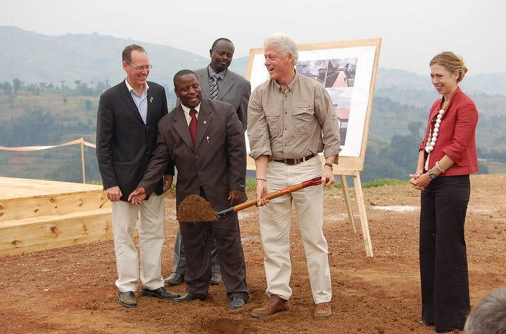 Groundbreaking ceremony. (Photo courtesy of MASS Design Group)