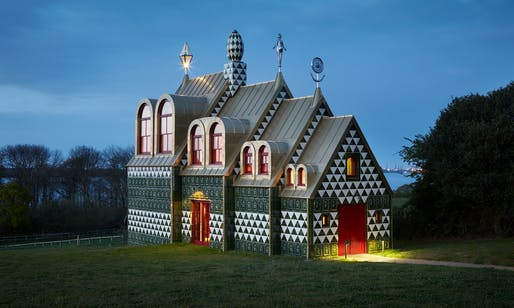 FAT's House for Essex, designed in collaboration with the artist Grayson Perry. Photograph: Living Architecture.