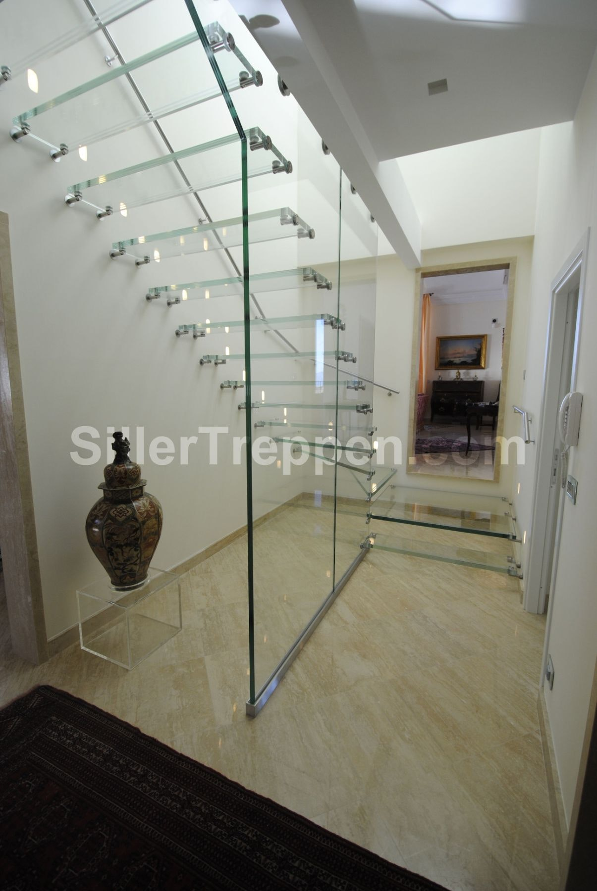 All Glass Staircase