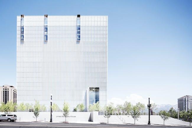 United States Courthouse, Salt Lake City, Utah by Thomas Phifer and Partners; Naylor Wentworth Lund Architects. Photo © Scott Frances