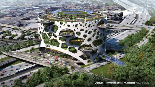 "The design concept ""Uber Hover​"" by Humphreys & Partners."