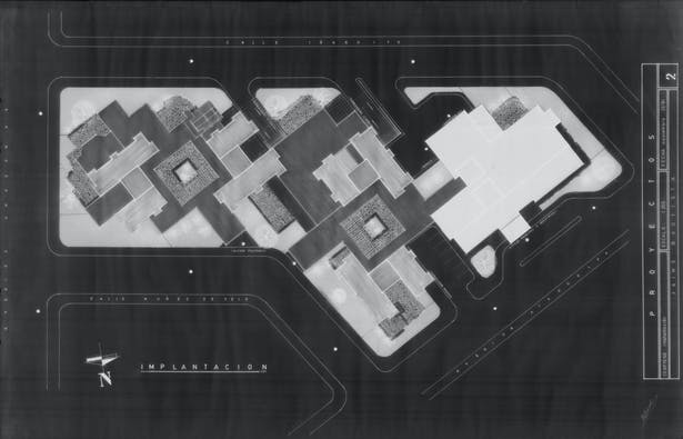 Ground Floor Level. Design & Model by J. F. Bautista