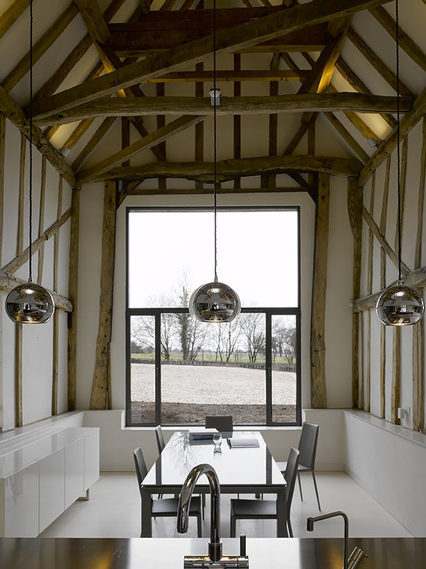 Chantry Farm Barn Dining Space