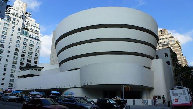 The Guggenheim in New York. Credit: Wikipedia