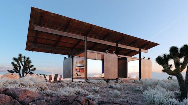 Joshua Tree Architect: Apollo Design Studio Rendering: Notion Workshop