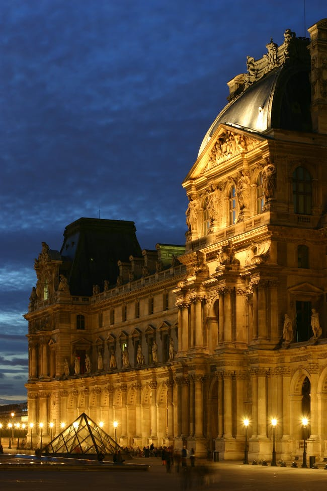 On the LD: Parisians generally like it classical and low slung, in keeping with the city's rich architectural heritage (photo of the Louvre via Wikipedia)