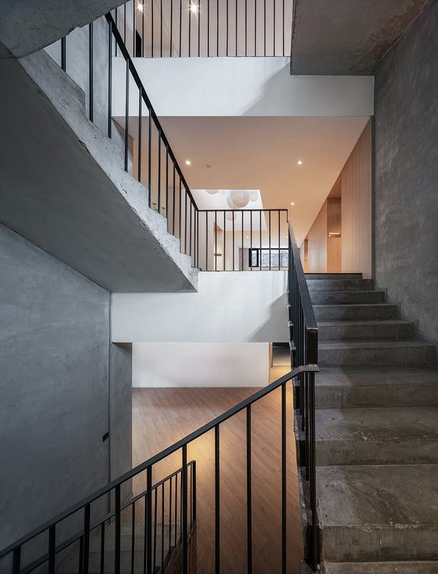 Stairs, photo: Wu Qingshan