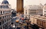 Mies van der Rohe's Mansion House Square archive joins the RIBA Collections courtesy of Lord Palumbo