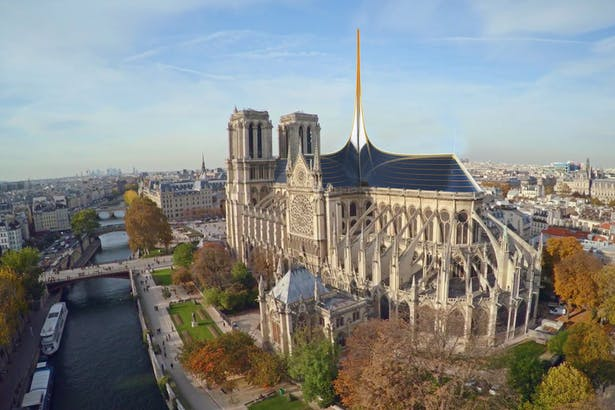 Notre Dame's Spine_OF STUDIO_Aerial