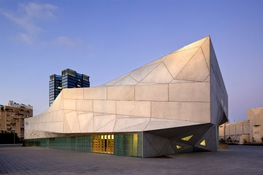 The new Herta and Paul Amir Building at the Tel Aviv Museum of Art by Preston Scott Cohen, Inc. (Photographer: Amit Geron)