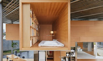 Muji's apartment prototype tackles long commutes and highly dense cities