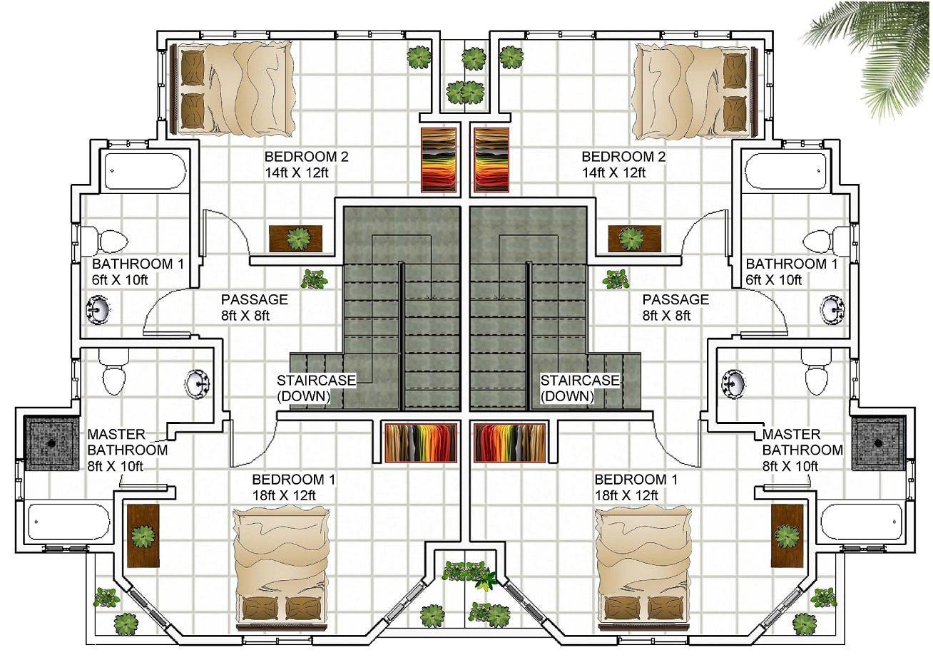 Caribbean Home Design HD018 | Damar Hutchinson | Archinect