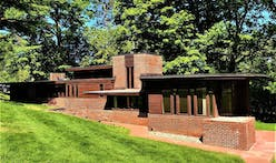 Frank Lloyd Wright's early Usonian Charles and Dorothy Manson House is for sale
