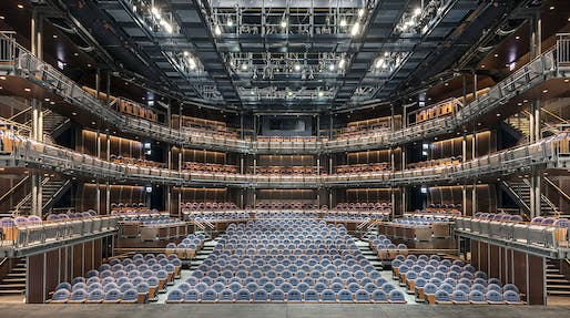 Stellar Design winner: The Yard at Chicago Shakespeare Theater; Chicago by Adrian Smith + Gordon Gill Architecture in collaboration with Theater Consultant CharcoalBlue, Construction completed by Bulley & Andrews. Photo © James Steinkamp.