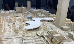 Model of future LACMA campus now on display