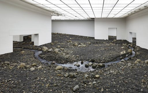 Riverbed, by Olafur Eliasson. © Louisiana Museum of Modern Art