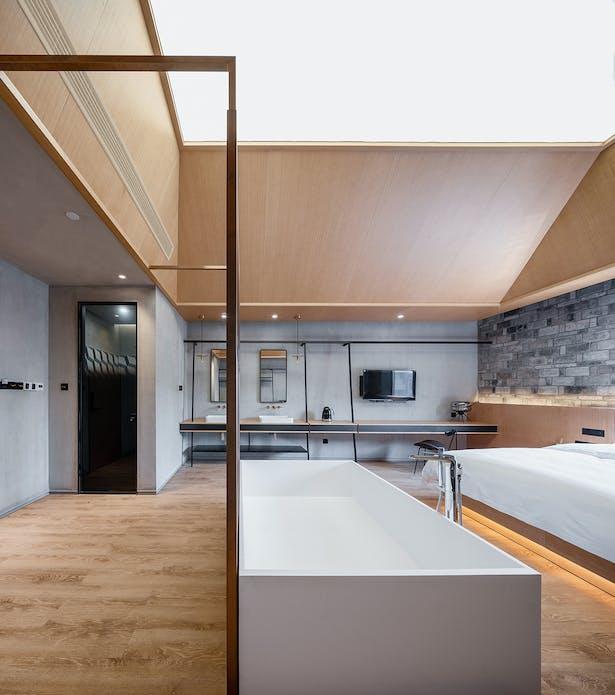 90s Guest Rooms, photo: Wu Qingshan