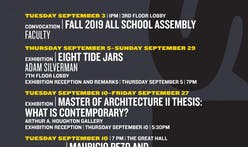 Get Lectured: Cooper Union, Fall '19