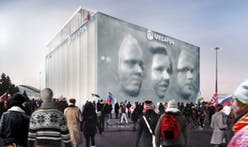 Sochi Olympic pavilion will transform into giant 3D portraits
