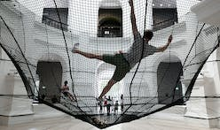 Soft Dome by Atelier YokYok installed in the National Museum of Singapore