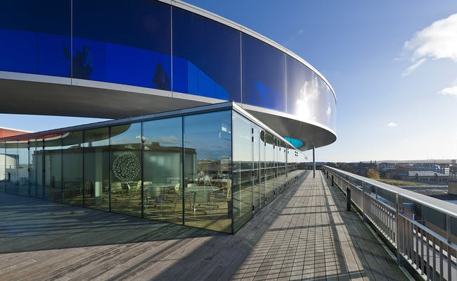 Aarhus Museum of Modern Art (ARoS) in Aarhus, Denmark by schmidt hammer lassen architects