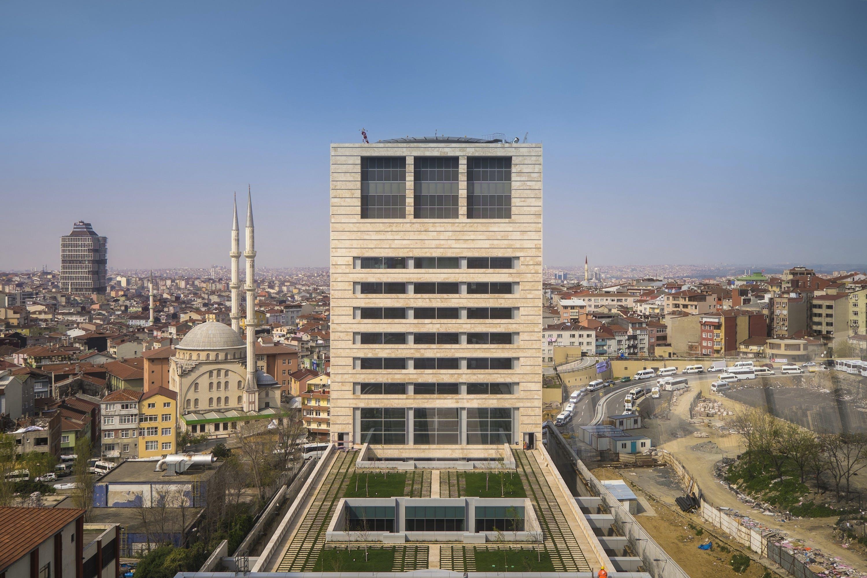 Soyak Kristalkule Finansbank Headquarters Pei Cobb